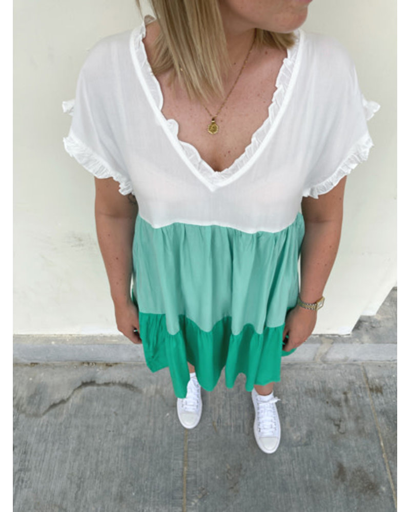 Sao Paulo dress green