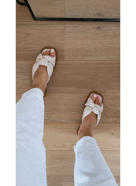Florence slippers beige