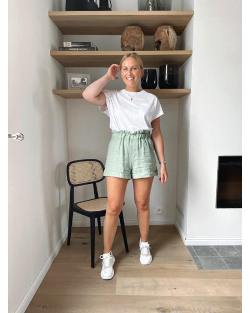 Lise sporty T-shirt white
