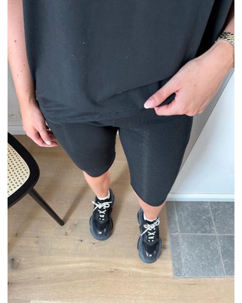 Delphine ensemble zwart