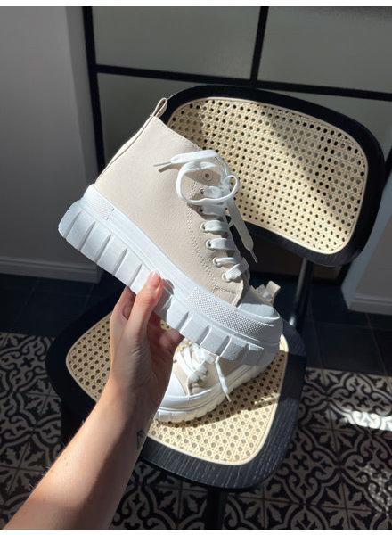 Yoika sneakers latté