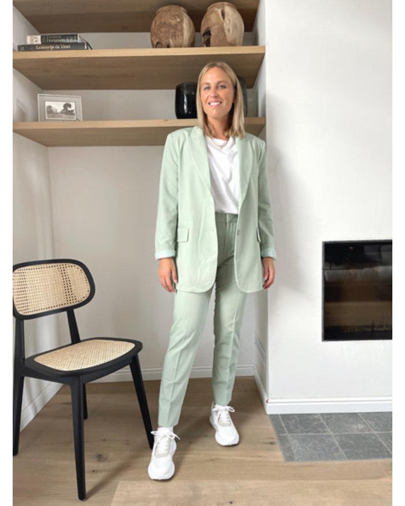 Justine blazer sage green