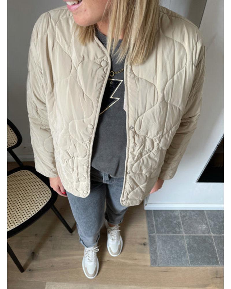 Ine jacket beige