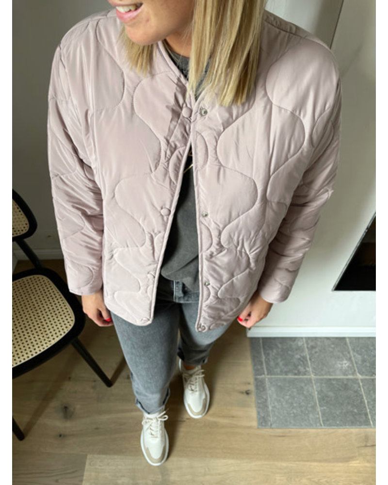 Ine jacket blush
