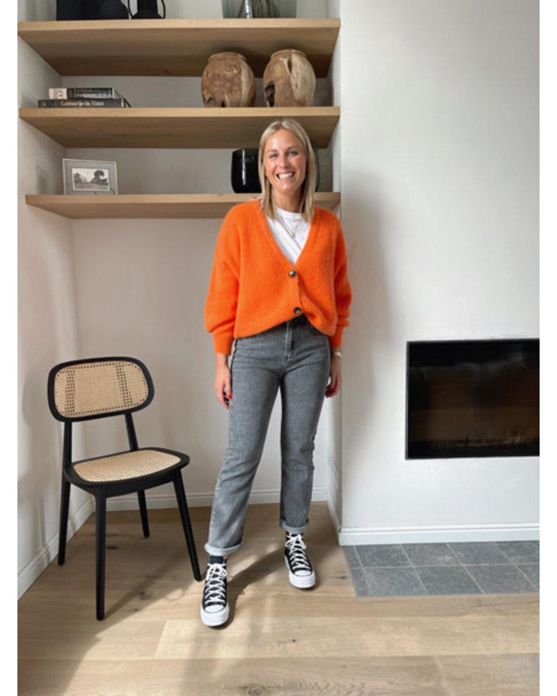 Beau Monde knit orange