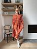 Amber dress orange