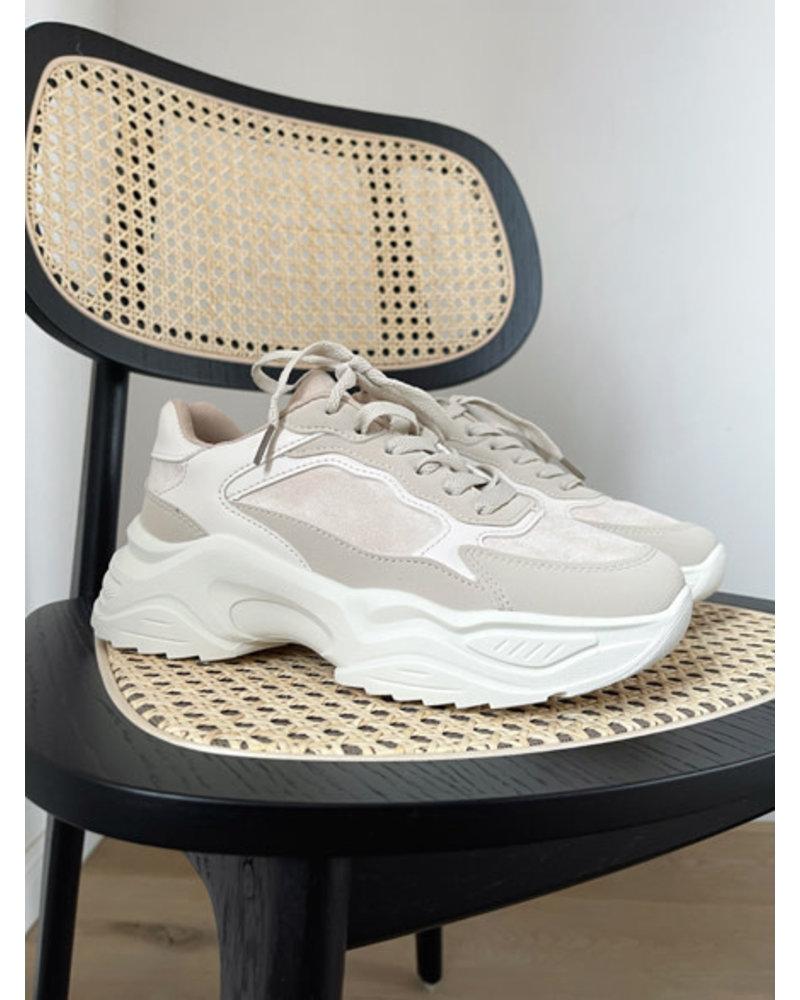 Xenia sneakers beige