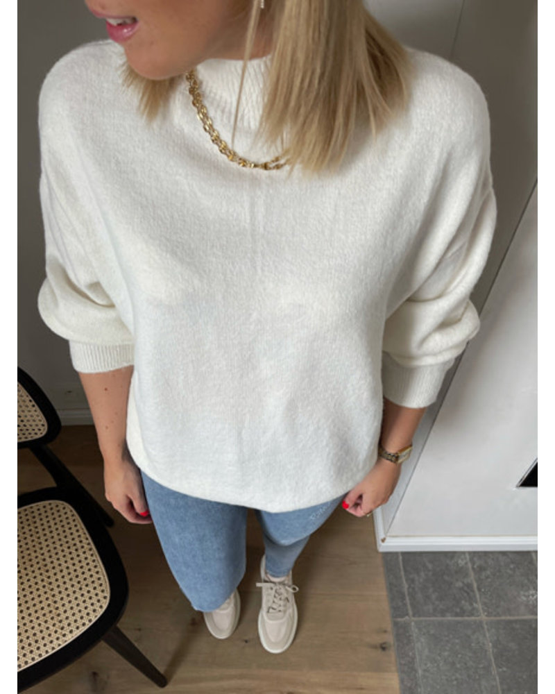 NA-KD knitted sweater off white