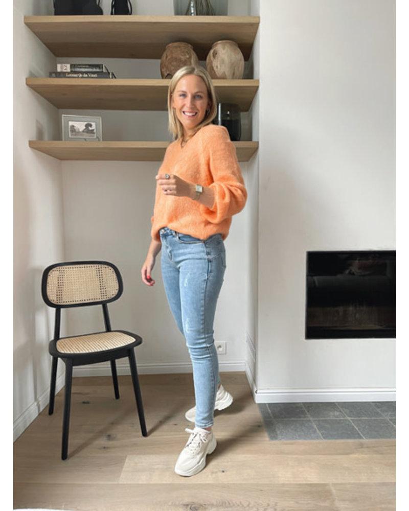 Elou knit oranje