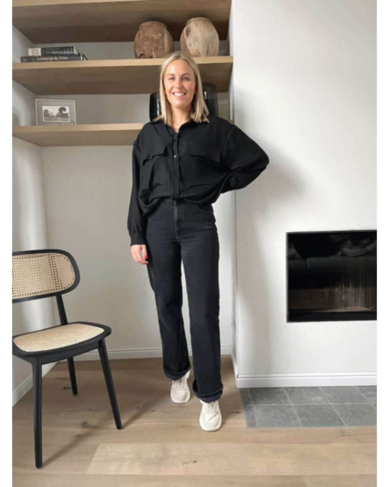 Bo blouse black
