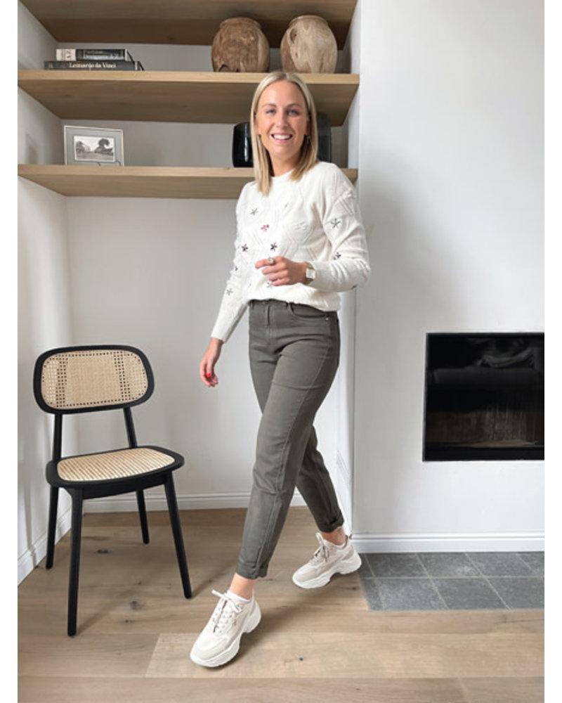 Elena jeans kaki