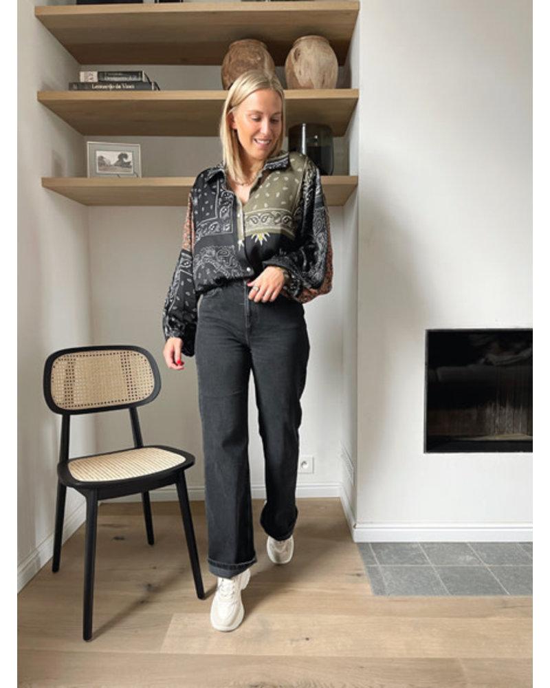 Fauve blouse black