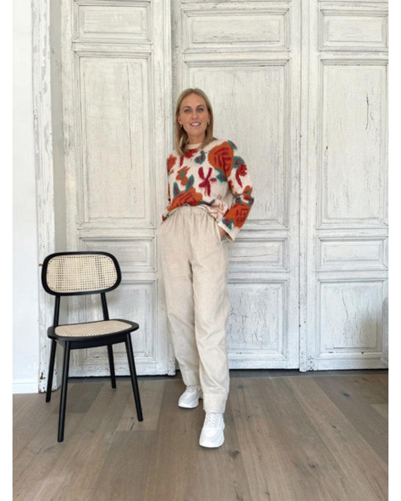 Lize corduroy pantalon
