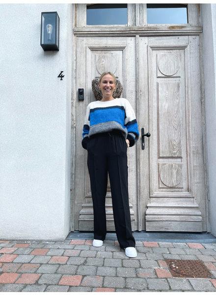 Naomi knit blue