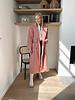 Muriel mantel pink