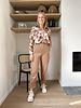 Lize corduroy pantalon camel