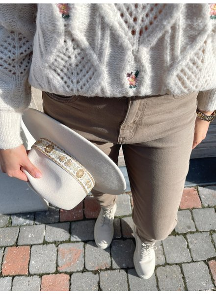 Elena jeans taupe