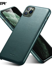 ESR Telefoonhoesje - Apple iPhone 11 - Metro Leather - Groen