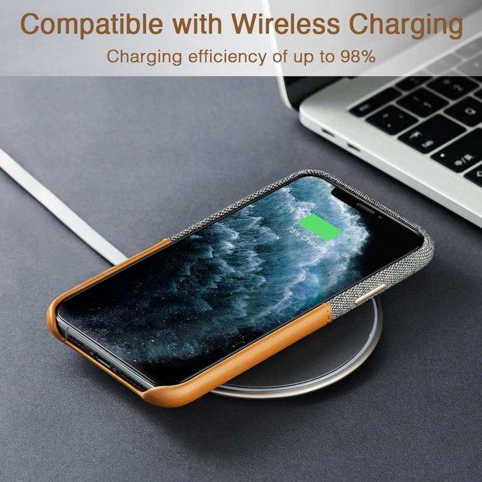 ESR Telefoonhoesje - Apple iPhone 11 Pro MAX - Metro portemonnee - Bruin