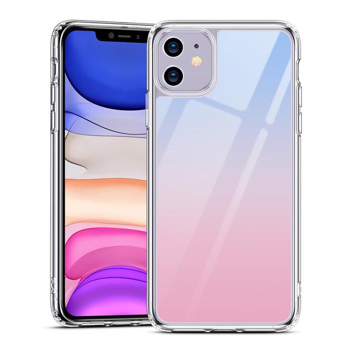 ESR Telefoonhoesje - Apple iPhone 11 - Ice Shield - Roze