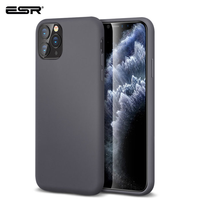 ESR Telefoonhoesje - Apple iPhone 11 Pro - Yippee silicone - Grijs