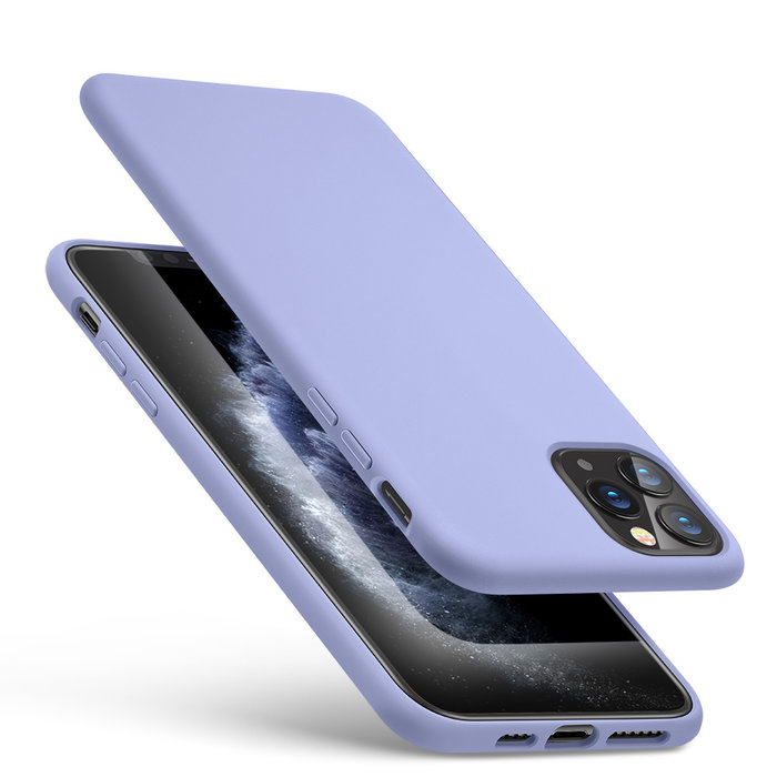 ESR Telefoonhoesje - Apple iPhone 11 Pro - Yippee silicone - Paars