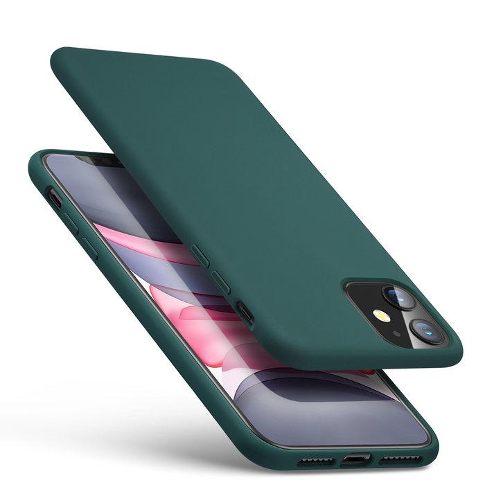 ESR telefoonhoesje - Apple iPhone 11 - Yippee siliconen - Groen