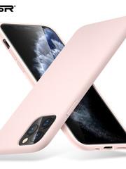 ESR Telefoonhoesje - Apple iPhone 11 Pro MAX - Yippee silicone - Roze