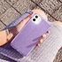 ESR Telefoonhoesje - Apple iPhone 11 - Makeup Glitter - Paars