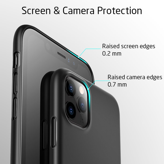 ESR Telefoonhoesje - Apple iPhone 11 Pro - Liquid Shield – Zwart