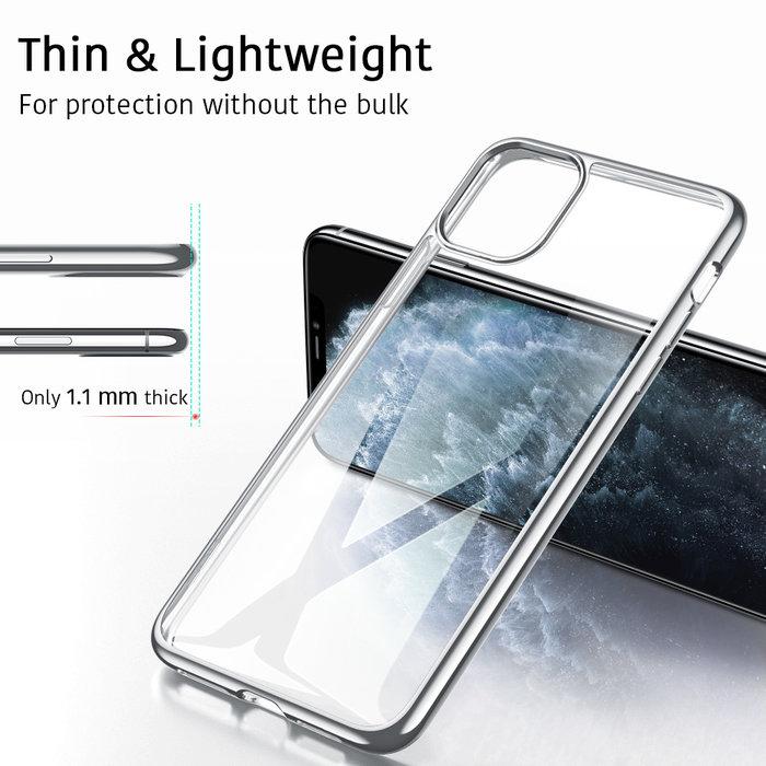 ESR Telefoonhoesje - Apple iPhone 11 Pro - Hues Twinkle - Zilver Kleurig