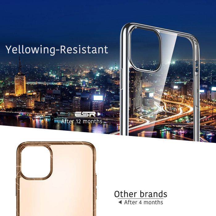 ESR Telefoonhoesje - Apple iPhone 11 Pro Max - Hues Twinkle - Zilver Kleurig