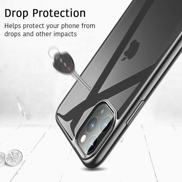 ESR Telefoonhoesje - Apple iPhone 11 Pro Max - Hues Twinkle - Zwart - Apple iPhone 11 Pro Max - Hues Twinkle - Zwart/Transparant