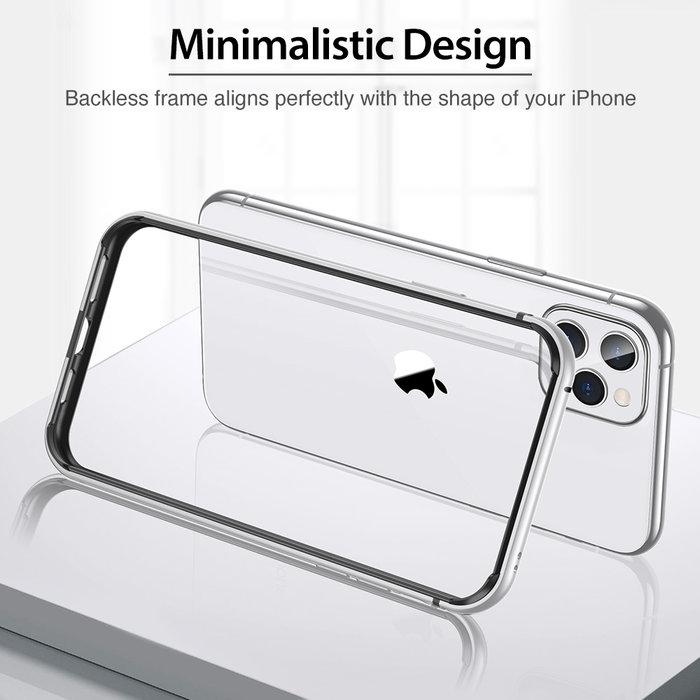 ESR telefoonhoesje - Apple iPhone 11 Pro Max - Edge Guard - Zilver