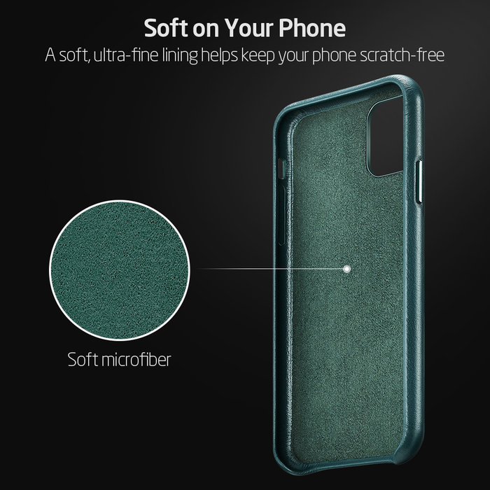 ESR ESR - telefoonhoesje - Apple iPhone 11 Pro - Metro Leather - Groen