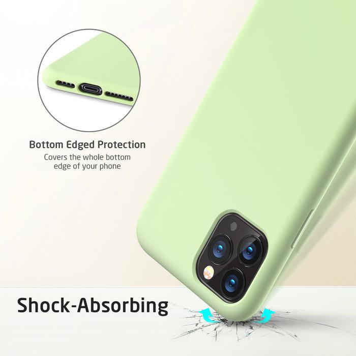 ESR Telefoonhoesje - Apple iPhone 11 Pro - Yippee silicone - Groen