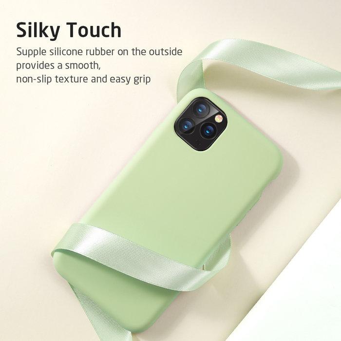 ESR telefoonhoesje - Apple iPhone 11 - Yippee silicone - Groen