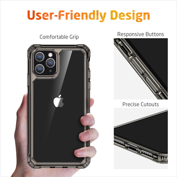 ESR telefoonhoesje - Apple iPhone 11 Pro – Air Armor – Donker Transparant