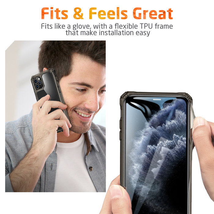 ESR telefoonhoesje - Apple- iPhone 11 Pro – Air Armor – Donker Transparant