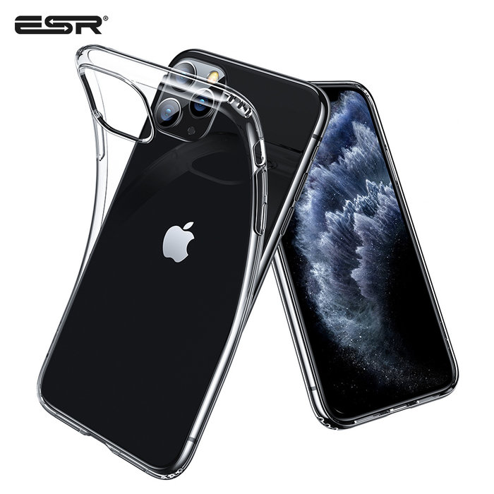 ESR telefoonhoesje - Apple iPhone 11 Pro Max - Essential Zero – Transparant