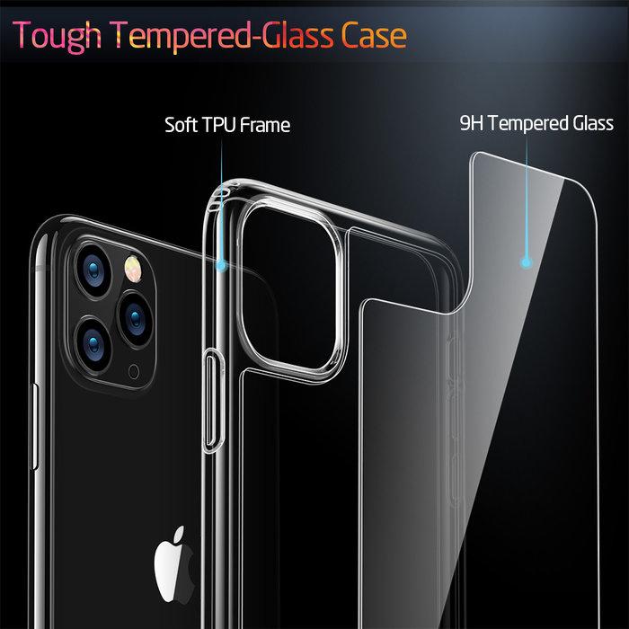 ESR Telefoonhoesje - Apple iPhone 11 Pro - Ice Shield - Transparant