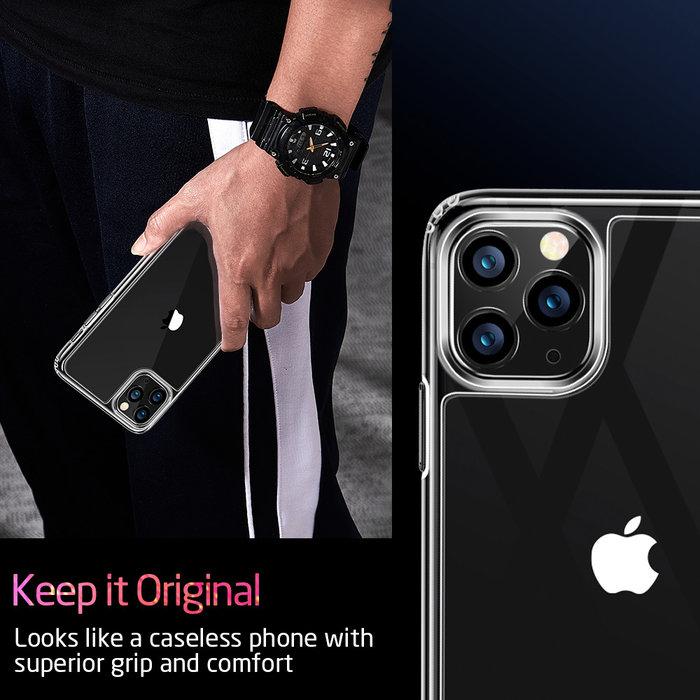 ESR Telefoonhoesje - Apple iPhone 11 Pro Max - Ice Shield - Transparant