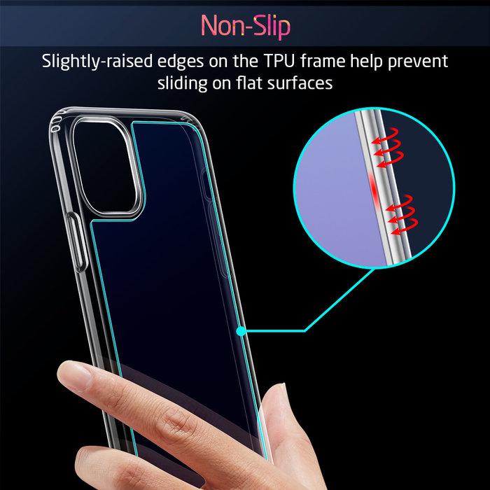 ESR Telefoonhoesje - Apple iPhone 11 - Ice Shield - blauw & paars