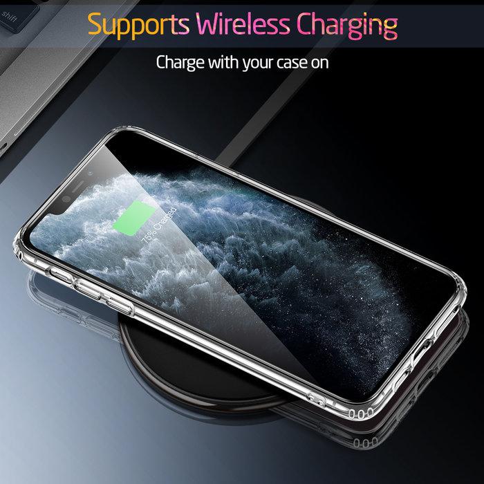 ESR Telefoonhoesje - Apple iPhone 11 Pro - Ice Shield – Roze & Blauw