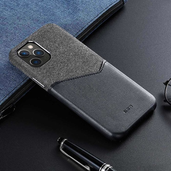 ESR telefoonhoesje - Apple iPhone 11 Pro Max - Metro Portemonnee - Zwart