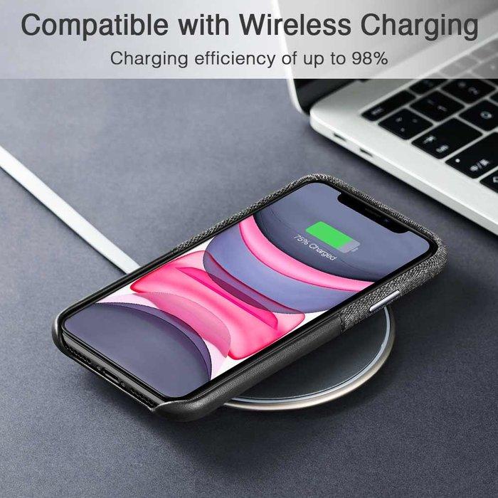 ESR telefoonhoesje - Apple iPhone 11 - Metro Portemonnee – Zwart