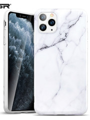 ESR Telefoonhoesje - Apple iPhone 11 Pro - Vogue marmer – Wit