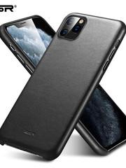 ESR telefoonhoesje - Apple iPhone 11 Pro Max - Metro Leather - Zwart