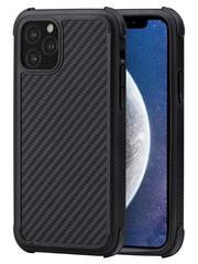 PITAKA MagEz Case Pro - iPhone 11 Pro Max - Twill-patroon (zwart)