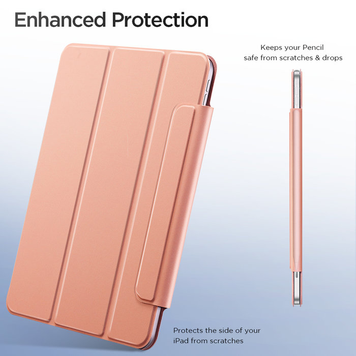 ESR Tablethoes - iPad Pro 12.9 2020 - Rebound Magnetic - Rose Gold